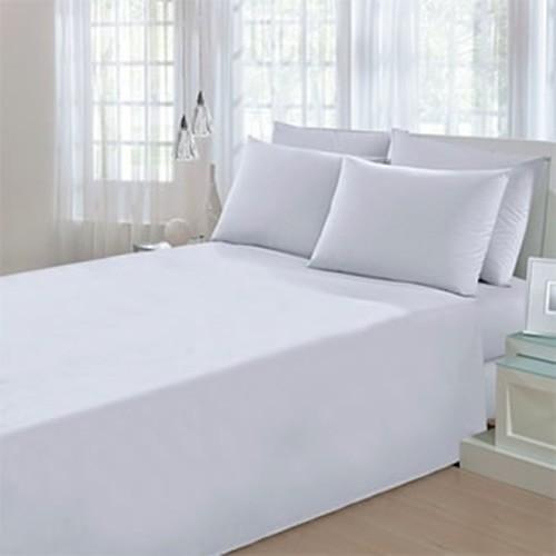 eedb934d36 Lençol Casal Santista Prata Profissional - 100% algodão